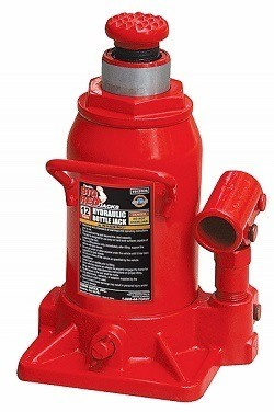 Torin Stubby Red Hydraulic Car Bottle Jack