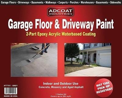 AdCoat Garage Floor & Driveway Epoxy Paint