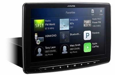 Alpine iLX-F309 HALO9 Car Play Stereo