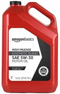 AmazonBasics High Mileage Oil