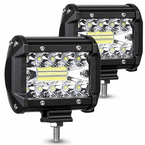 Ambother 4-Inch 120W Pack of 2 LED Pods