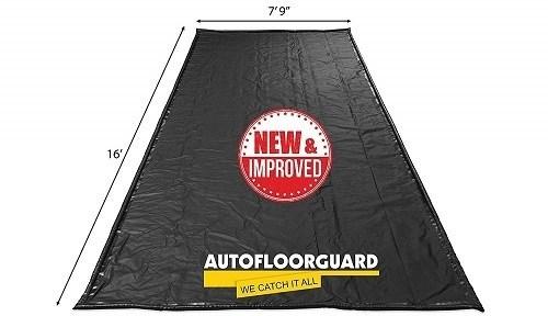 AutoFloorGuard AFG-7916 Black Garage Floor Mat