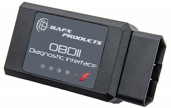 BAFX Products OBD2 Bluetooth Adapter
