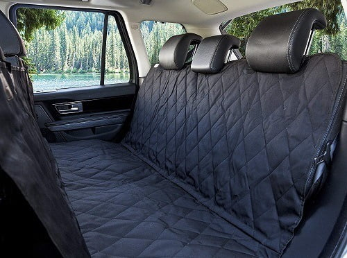 BarksBar Luxury Pet Car Seat Cover With Seat Anchors