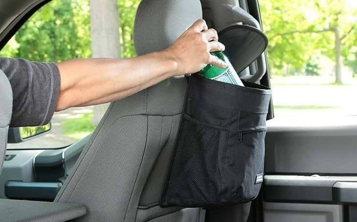 Best Car Trash Can & Bag