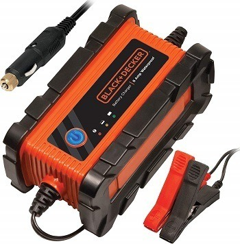 Black & Decker Battery Charger with Cable Clamp