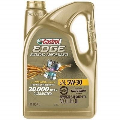 Castrol Edge 03087 5W-30 Full Synthetic Oil