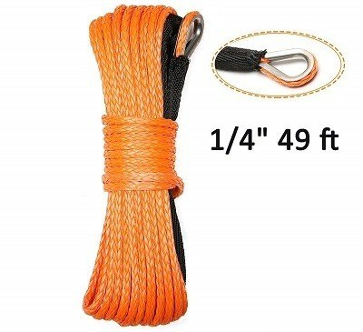 Eluto Synthetic Winch Rope with Sheath Winches