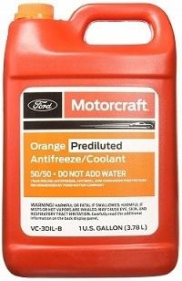 Ford VC-3DIL-B Genuine Orange Antifreeze & Coolant