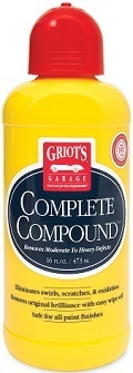 Griot's Garage 10863 16-Oz Rubbing Compound