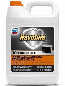 Havoline Extended Life Premix Antifreeze Coolant
