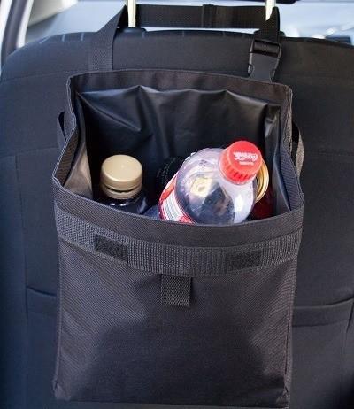 Hominize Premium Waterproof Car Trash Can & Bag
