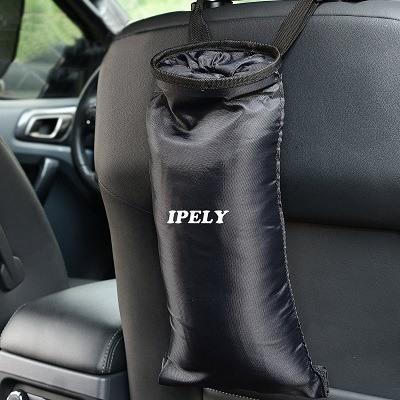 Ipely Elastic Car Trash Can & Bag