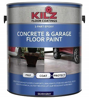 Kilz 1-Part Epoxy Concrete & Garage Floor Coating