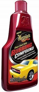 Meguiar's G18016 Fast-Acting & Clear-Coat Safe Rubbing Compound