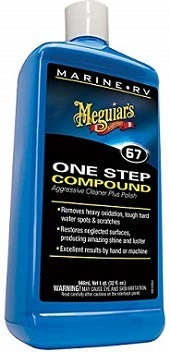 Meguiar's M6732 RV/Marine One-Step Rubbing Compound
