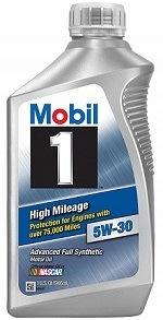 Mobil 1 45000 5W-30 High Mileage Oil