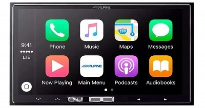 Pacific Stereo Alpine ILX-107 With Backup Camera