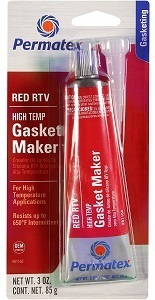 Permatex 81160 Red RTV Silicone Gasket Sealer