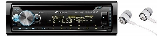 Pioneer In-Dash Built-in Bluetooth Car Play Stereo
