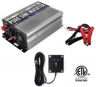 Power TechOn PS1001 600-Watt Pure Sine Car Inverter