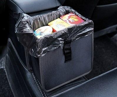 Power Tiger 1.85-Gallon Hanging Trash Can & Bag