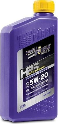 Royal Purple 36520-6PK Case-of-6 5W-20 Oil