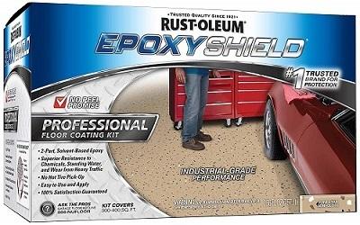 Rust-Oleum Epoxy Shield Garage Floor Coating