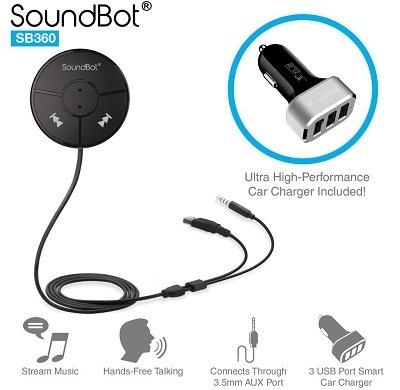 SoundBot SB360 Bluetooth Car Kit