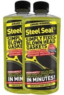 Steel Seal Pour-In Blown Head Gasket Sealer