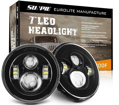 Sunpie 7-inch Round LED Halo Light