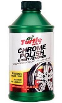 Turtle Wax T-280RA Chrome Polish & Rust Remover
