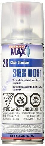 U.S. Chemical & Plastics Spraymax 3680061 Clear Coat