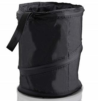 ZoneTech Universal Portable Car Trash Can & Bag