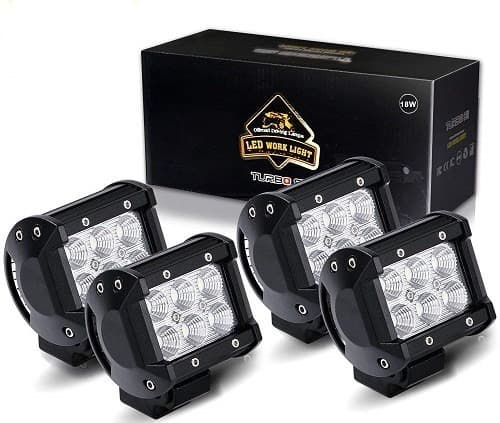 Turbo-SII-4-Inch-Set-Of-4-Off-Road-Light-Pods