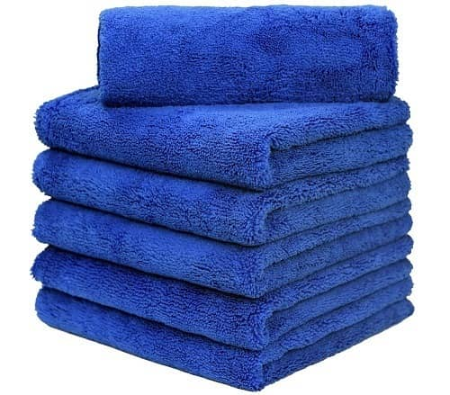 Carcarez microfiber towels for cars