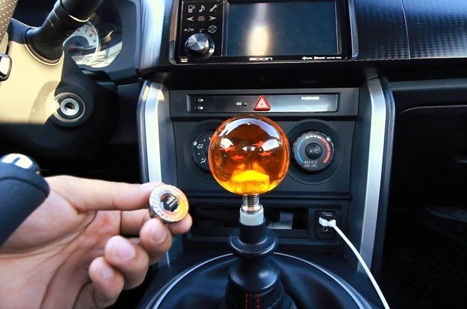 Cool Shift Knob