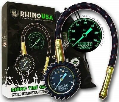 Rhino USA Best-75psi-Tire-Pressure-Gauge