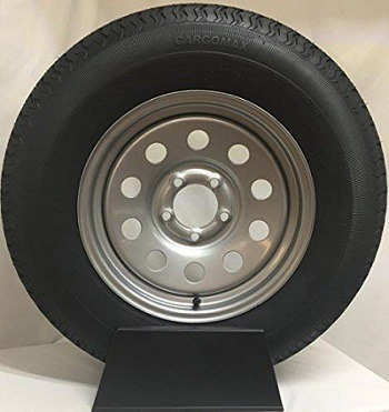 Wheels Express Inc Silver Mod Radial Trailer Tire