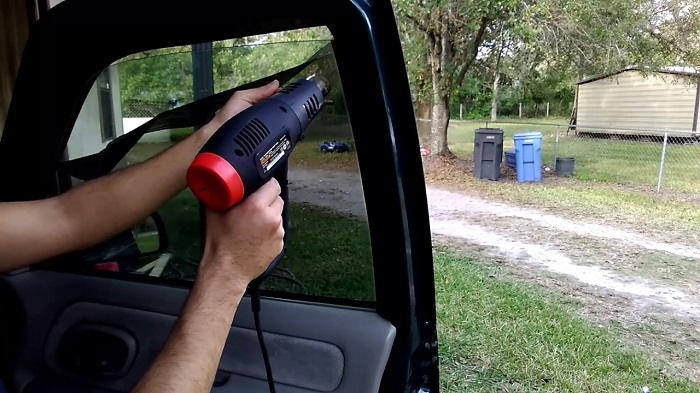 Using Hairdryer or Heat Gun