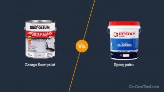 Garage Floor Paint vs. Epoxy