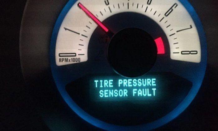 Tire Pressure Sensor Fault