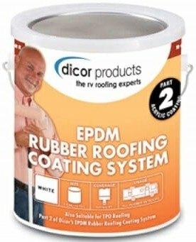 Dicor RPCRC1 EDPM RV Roof Coating