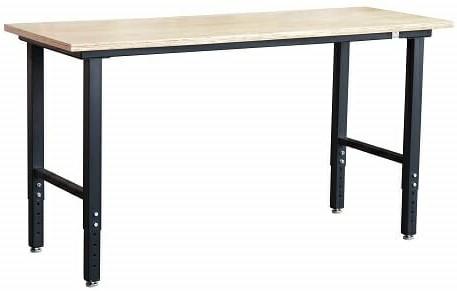 Homcom Height-Adjustable 64-Inch Wide Garage Workbench