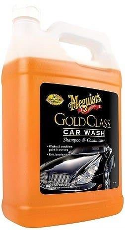 Meguiar's G7101FFP 1-Gallon Gold Class Car Wash Shampoo