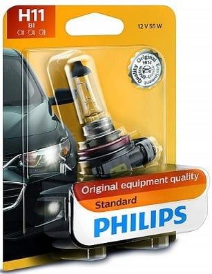 Philips 12362B1 Standard Halogen Headlight Bulb