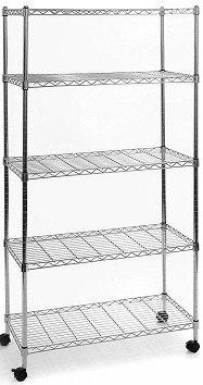 Seville Classic 5-tier Wire Shelves