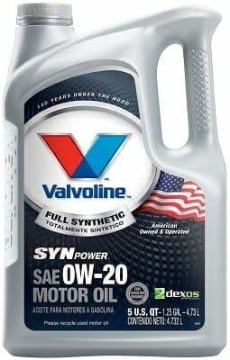Valvoline 813460 SynPower Synthetic Motor Oil