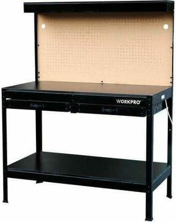 Workpro Garage Workbench With Lighting