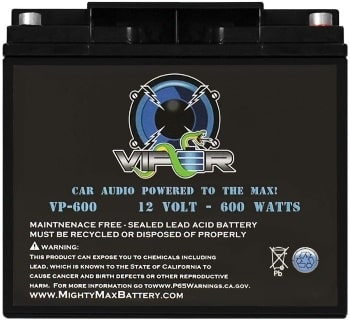 Mighty Max Battery VP-6003